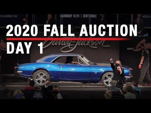 DAY 1 - 2020 Fall Auction - BARRETT-JACKSON