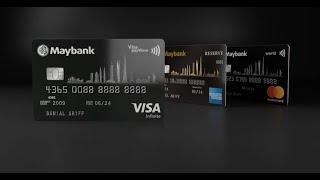 Maybank Visa Infinite Credit Cards Maybank Malaysia