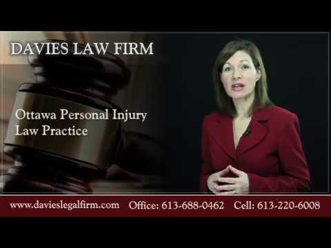 Ottawa Personal Injury Lawyer - Tanya Davies Law Firm