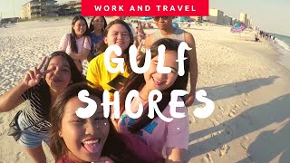 GULF SHORES + BBOOM BBOOM IN ALABAMA | Work and Travel 2018