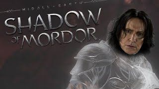 SHADOW OF MORDOR | Snape the Wraith (Funny Gaming Moments)