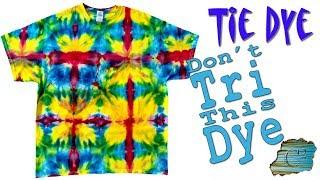Tie Dye: Don't Tri This Dye  [Ice Dye]
