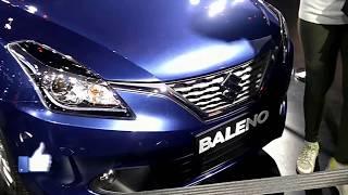 Suzuki Nexa Baleno Car (Indian Auto Expo 2018) : First Look and Preview (Musical)