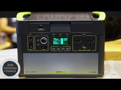 YETI 1400 Lithium Solar Generator – Power Anything, Anywhere