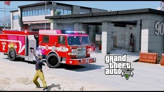 Video GTA 5 Firefighter Mod 71 Sandy Shores Fire Department Responding To Prank Calls Out Of Our New House download MP3, 3GP, MP4, WEBM, AVI, FLV November 2018