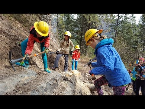 Ecothon 2016: Trail Building with the Montana Conservation Corps