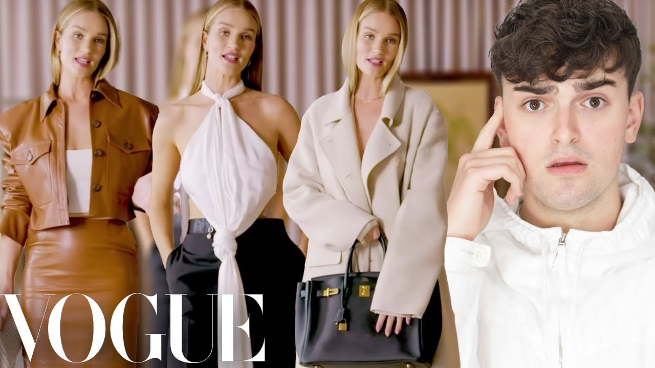 Reacting to Rosie Huntington-Whiteley's Outfits of the Week