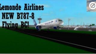 ROBLOX | Lemonde Airlines | B787-8 | businessklasse