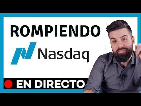 Trading NASDAQ 100 live 📊 Estrategia de TRADING Futuros