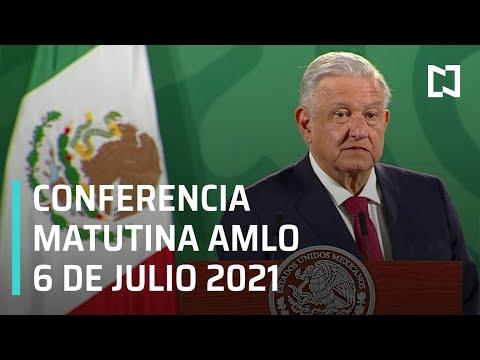 AMLO Conferencia Hoy / 6 de Julio 2021
