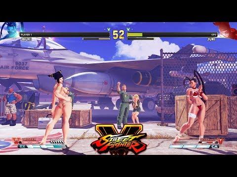 Street Fighter V AE Ibuki vs Juri PC Mod