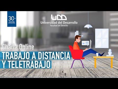 Charla: Trabajo a distancia y Teletrabajo