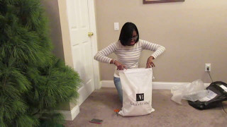 Dressilyme.com review - First Order| Wedding dress from China unboxing!