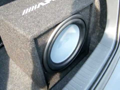 Prova subwoofer dragster 30cm 300watt rms doovi for 20000 watt tahoe window shake