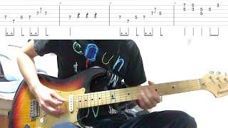 【MONSTER DANCE(ギターTAB譜付き)】〜テンポ遅めなので練習用にどうぞ〜 thumbnail