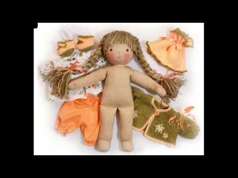 Текстильная кукла изготовление своими руками 489