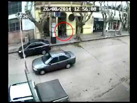 Cámara frontal a la Veterinaria robada ayer al mediodóa en Durazno
