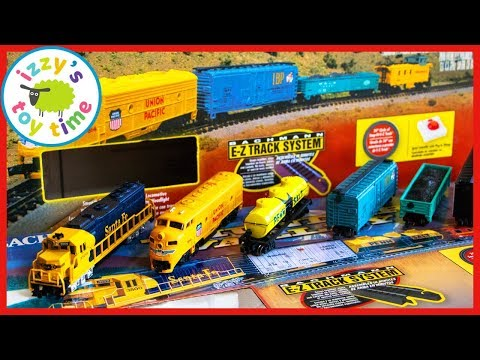 WHY ARE THESE MODEL TRAINS SO TINY?! Fun Toy Trains for Kids!