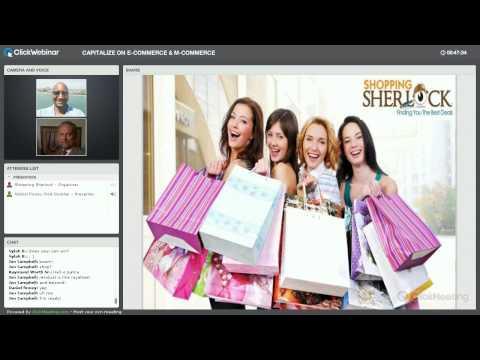 Shopping Sherlock Business Presentation 4-24-2015
