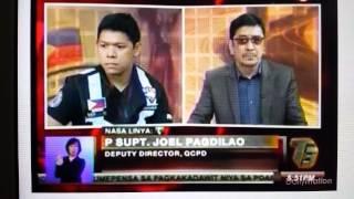 T3: Mr. Joven Roxas versus SPO1 Conrad Lim (of Station 10 QCPD)