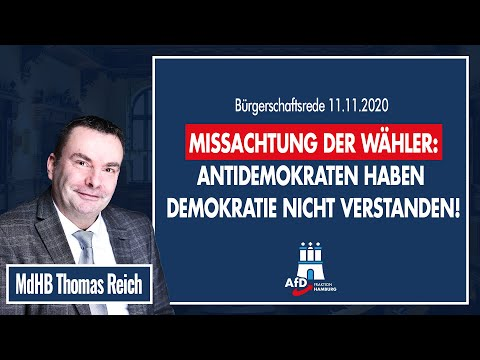 Missachtung der Wähler: Antidemokraten haben Demokratie nicht verstanden!