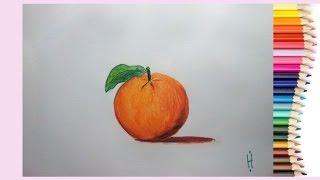 Как нарисовать апельсин АКВАРЕЛЬНЫМИ карандашами(В этом видео рисуем АПЕЛЬСИН АКВАРЕЛЬНЫМИ карандашами. Почувствуйте магию этих карандашей;) Материалы,..., 2015-07-05T11:26:04.000Z)