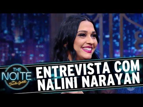The Noite (27/09/16) - Entrevista com Nalini Narayan