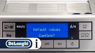How to reset your De'Longhi PrimaDonna XS ETAM 36.365 coffee machine