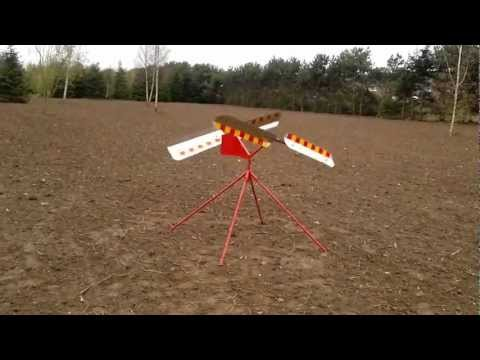 JD Engineering - Wind Powered Bird Scarer - www.uktraps.co.uk