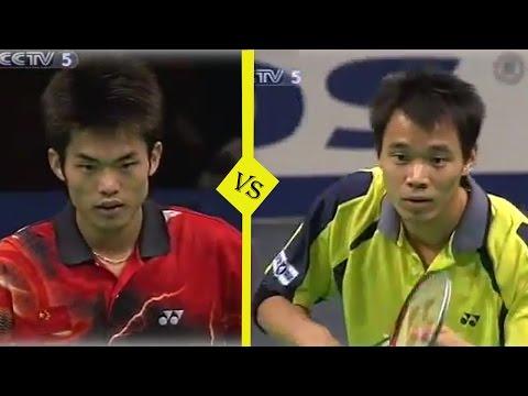 LinDan vs Xie Xuanze - MS Final 2004 - Badminton