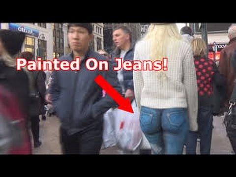Girl walks around with no pants nyc final