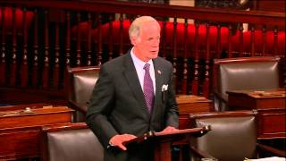 Sen. Carper on the Senate Floor about recent a CODEL to the U.S. Southern Border