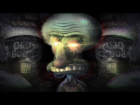 SQUIDWARD NEVER SHOULD HAVE ENTERED THAT!! | Spongebob Horror Game [Free Download] 6AM at ChumBucket