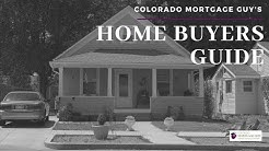 Colorado Mortgage Guy: Home Buyer Guide Part 1: Loan Programs
