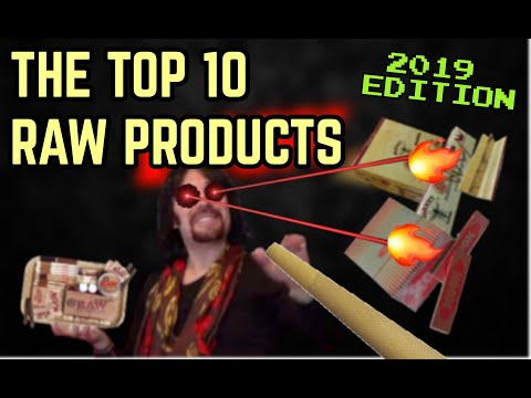 4K THE TOP 10 RAW PRODUCTS - 2019 EDITION