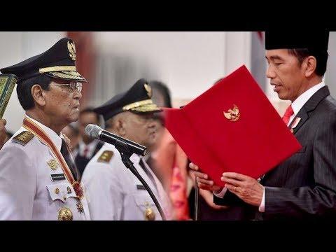 Pertama Kalinya, Sri Sultan HB X Dilantik Jokowi di Istana