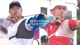 Lee Seungyun v Alexander Wise – recurve men 2nd round | Tokyo 2020 Olympic Test