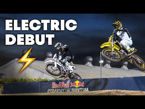 Electric MX Bike Makes Professional Debut at Red Bull Straight Rhythm | Moto Spy Supercross