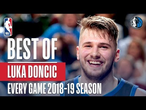 Luka Doncic's Best Play From Every Game Of The 2018-2019 Season