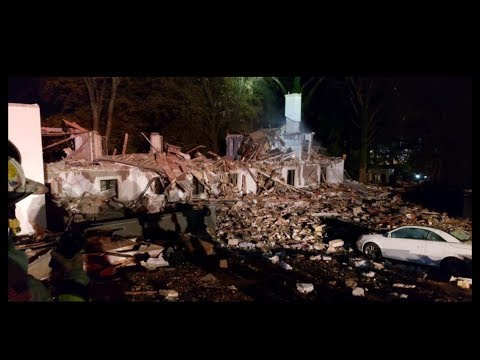 Home Explodes in Gladwyne, PA
