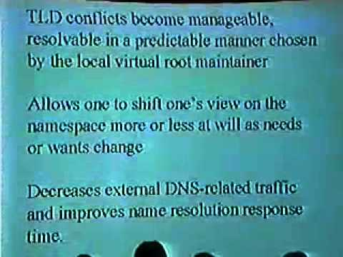 DEF CON 8 - Mike Scher - What is DNS and alt roots?
