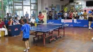 10-ти летний мальчик потрясающе играет в Настольный теннис !!