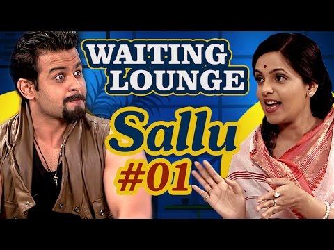 Waiting Lounge - Dr.Sanket Bhosale as (Sallu) Meets Sugandha Mishra As (Didi) - Part 1 Comedywalas