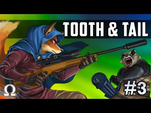 THE INMATE & THE FOX, SATT'S SWEET TEARS! | Tooth & Tail #3 Gameplay Ft. Sattelizer