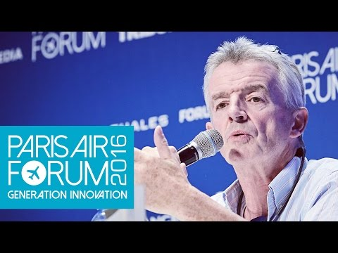 PARIS AIR FORUM Interview Michael O'Leary - Ryanair (en)