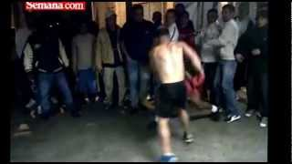 "Las peleas de  La Picota, carcel de ""maxima"" seguridad."