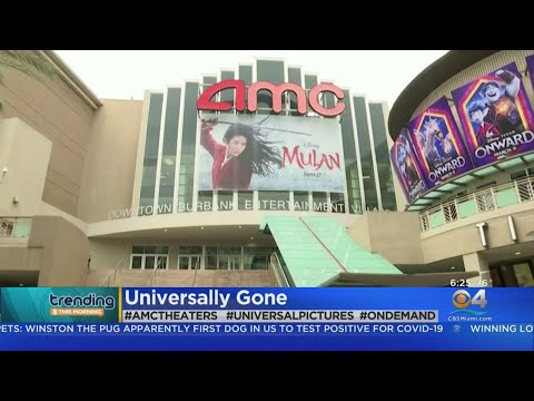 Trending: AMC Will No Longer Show Movies From Universal Pictures