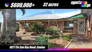 Gympie Property For Sale | 1021 Tin Can Bay Road, Canina