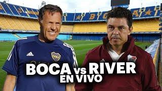 BOCA vs RIVER en vivo | IRL reacción ft. LOS NOTABLES