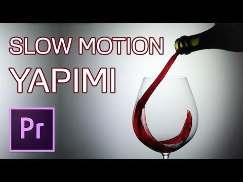 Slow Motion Yapımı   Premiere Dersleri
